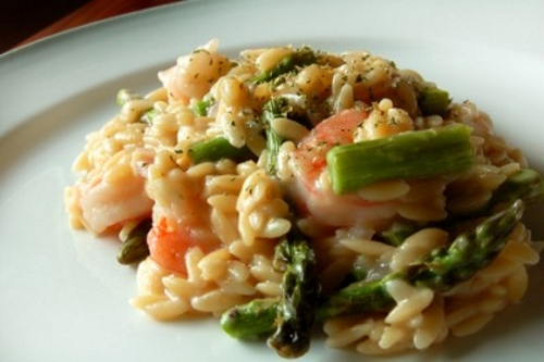 Asparagus Shrimp Risotto is an easy dish to make any day of the week ...