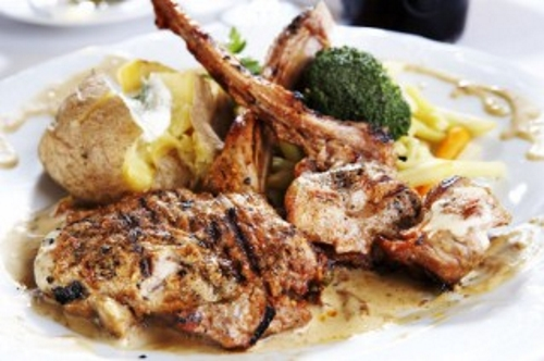veal chops