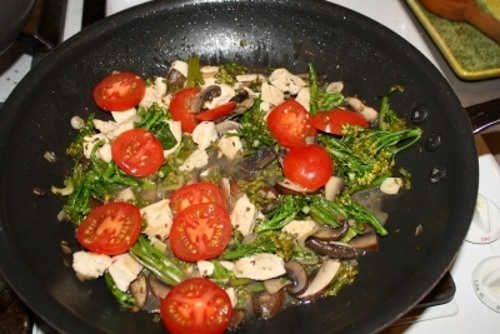 how to make rapini roasted
