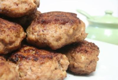 Great Fried Meatballs