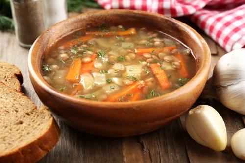 Rustic Lentil Soup Recipe — Dishmaps
