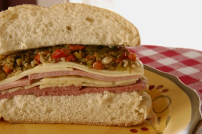 Muffuletta Sandwich Recipe — Dishmaps