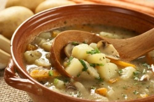 potato soups - winner of cooking comp april 2012