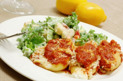 stuffed shells small Four Cheese Stuffed Shells