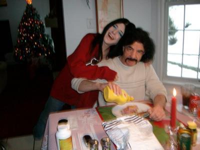vanessa and dad
